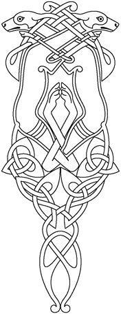 celtic hounds stencil - Google Search