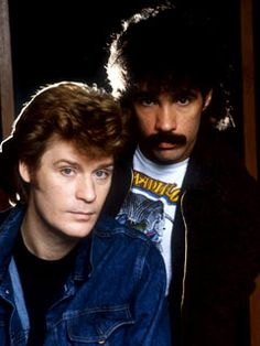 Hall & Oates - I love me some H and O! Daryl Hall seriously could sing the phone book to me...and I'd have no complaints.