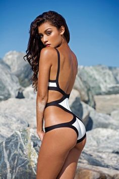 SWIMSUIT: http://www.glamzelle.com/products/bandage-black-white-cutout-monokini-one-piece-swimsuit