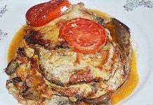 Parmigiana de vinete, reteta clasica italiana Mozzarella, French Toast, Pork, Vegan, Breakfast, Kale Stir Fry, Morning Coffee, Vegans, Pork Chops