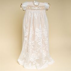 Louisa Christening Gown (Girl) | Cotton Baptism Outfits & Dresses ★ Baby Beau & Belle