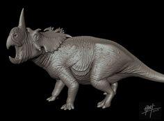 Coronosaurus/Centrosaurus brinkmani 1/72 3d printed