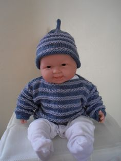 HAT & JUMPER SET, £10.00  this is one of my favourites, makes me wish I had a little boy of my own. SOLD.