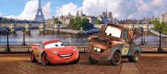 Fototapete Tapete Disney Cars 2 Lightning McQueen & Hook Foto 202 x 90 cm Cars Movie Characters, Disney Cars Movie, Heros Disney, Disney Cars Party, Disney Pixar, Movie Cars, Car Party, Disney Wallpaper, Of Wallpaper