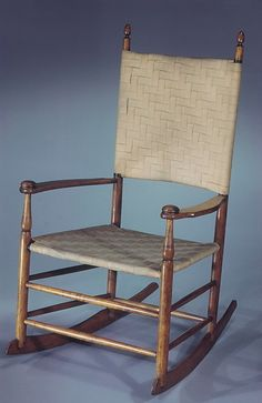 Rocking Chair  American  1800 1900