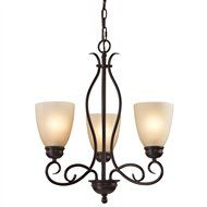 Cornerstone 1103CH/10 Chatham Transitional Chandelier CRS-1103CH-10