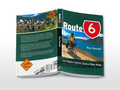 Route 6 book cover designed by the Fount for New Holland Publishers. Best Books To Read, Good Books, Book Cover Design, Book Design, Paper Cutting, Branding Design, Holland, Apple, The Nederlands