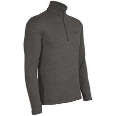 9fdc7715819 Icebreaker Original Zip Base Layer Top - Merino Wool