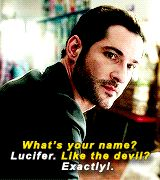 Tom Ellis as Lucifer Morninstar