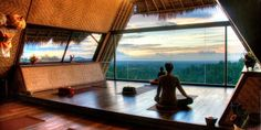 Yoga at Bali Eco Hotel. Village Above the Clouds by L' EcoResorts. #YogaBali