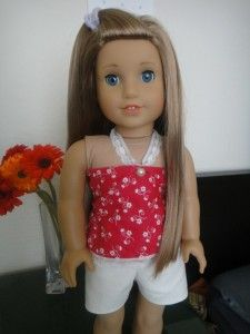 Easy diy clothes for american girl dolls-- @Evan Alger we could make some and sell them
