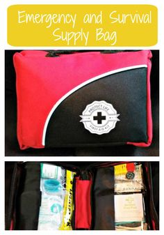 Emergency and Survival Supply Bag - Great to keep a few of these in the car, garage and the suitcase