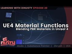 UE4 Material Functions: Blending PBR Materials in Unreal 4 [EP20] - YouTube