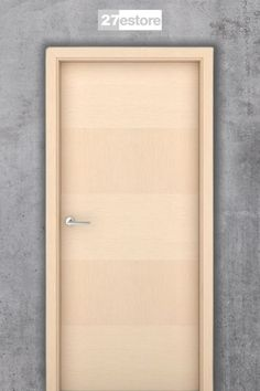 Lend a playful, creative touch to any room with the Bleached Oak Mayfair interior door. This unique wooden door features a natural wood veneer that alternates from top to bottom with five large panels of vertical and horizontal graining. Oak Interior Doors, Oak Doors, Wooden Doors, Cheap Doors, Classic Doors, Modern Door, Modern Cabinets, Wood Veneer, Home Renovation