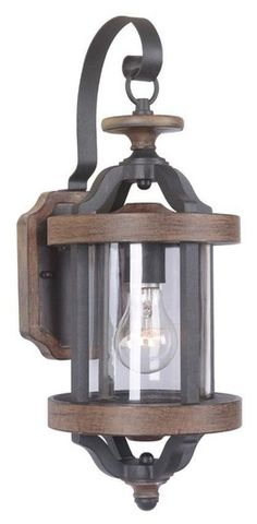 Buy the Craftmade Textured Black / Whiskey Barrel Direct. Shop for the Craftmade Textured Black / Whiskey Barrel Ashwood 1 Light Outdoor Wall Sconce and save. Outdoor Garage Lights, Garage Lighting, Outdoor Wall Lantern, Outdoor Wall Sconce, Rustic Lighting, Outdoor Wall Lighting, Exterior Lighting, Outdoor Walls, Wall Sconce Lighting