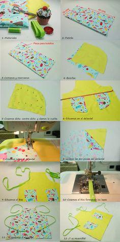 Muxugorri Blog: DIY delantal.