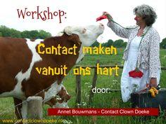 Contact Clown Doeke, clown in de zorg speelt en werkt in de zorg voor kinderen en volwassenen met een verstandelijke en/of meervoudige beperking. www.contactclowndoeke.nl