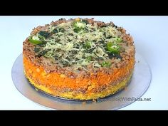 CHICKEN RICE CAKE *COOK WITH FAIZA*