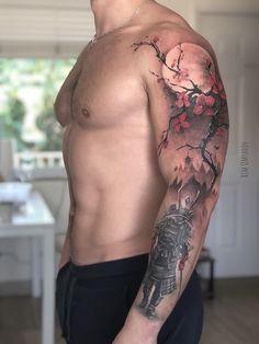 Japanese Tattoos 47143 Tattoo uploaded by Freelance tattooist. Samurai Tattoo Sleeve, Samurai Warrior Tattoo, Warrior Tattoos, Mädchen Tattoo, Tattoo Bein, Armor Tattoo, Irezumi Tattoos, Leg Tattoos, Tattoos For Guys