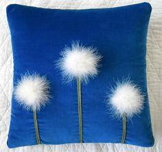 Dandelions pillow cover. $30.00, via Etsy.