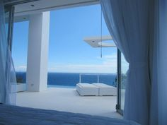 Spectacular ocean view from the Master Bedroom