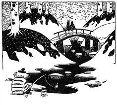 Tove Jansson ~ Moominland Midwinter