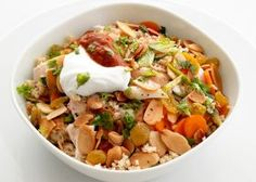 Spiced Couscous and Chicken
