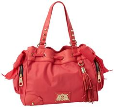 Juicy Couture Easy Everyday Daydreamer YHRU3350 Shoulder Bag,Bombshell | coolfashionaccessories.net