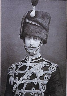 British; 10th (Prince of Wales's Own) Hussars, Duke of Clarence & Avondale as a Junior Officer, 1886