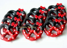 red and black polka dots shopping - Google Search