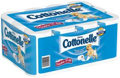 COTTONELLE TOILET PAPER DOUBLE ROLL 2/24-PACK 260 ct | http://tgm123.com/cottonelle-toilet-paper-double-roll-224-pack-260-ct/