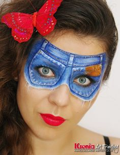 Ksenia Dudkina    jean mask - very clever