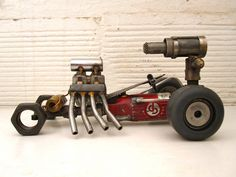 Part Hot Rod, part Die Grinder, All Killing Machine  All joints welded