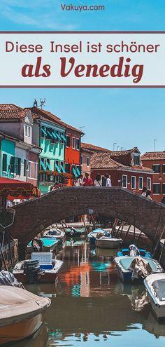Venedigs Sehenswürdigkeiten sind wunderschön, aber es gibt eine Insel die ist noch viel schöner als Venedig selbst. Die venezianische Insel hat einen ganz besonderen Flair mit bunten Häusern. Sie lädt perfekt zu einem Städtetrip ein! Venedig Reise | Italien Urlaub | Städtetrip | Italien Insel | Burano | Murano | Italien Sehenswürdigkeiten #insel #venedig #italien #reisetipps