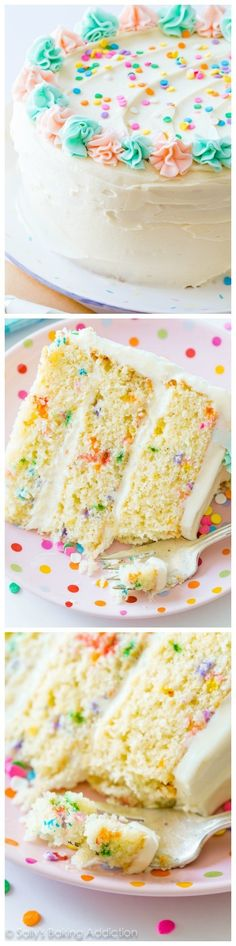 The ONLY funfetti cake recipe you need!