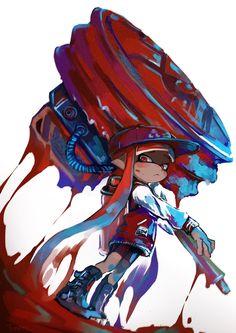 Twitter Splatoon 2 Game, Splatoon Squid, Nintendo Splatoon, Splatoon Comics, Image Zelda, Character Art, Character Design, Video Game Art, Super Smash Bros
