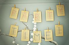 book page embroidered garland diy tutorial baby shower