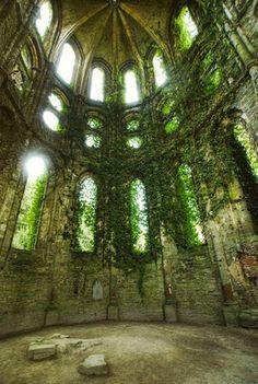 Beautiful, abandoned places...somewhere...