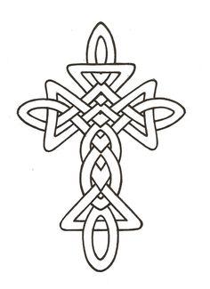 Celtic Cross Line Drawing - ClipArt Best - ClipArt Best