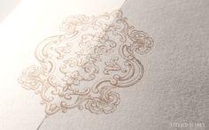 Anna and Michael | Luxury Wedding Invitations : Custom | Atelier Isabey