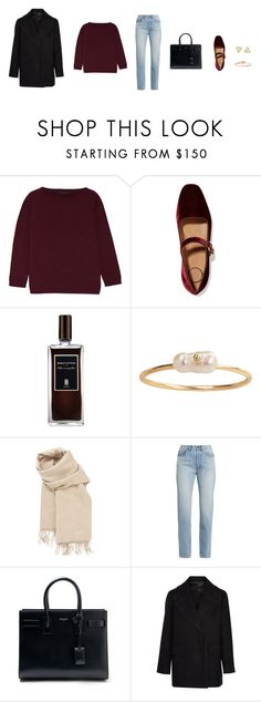 """Untitled #640"" by revover ❤ liked on Polyvore featuring The Row, Serge Lutens, Hermès and Yves Saint Laurent"