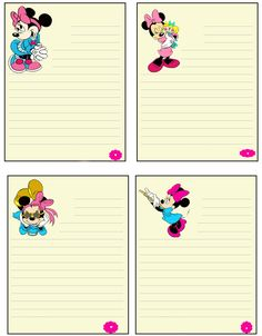 Minnie Mouse Notes