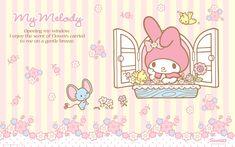 Sanrio: My Melody:) My Melody Wallpaper, Sanrio Wallpaper, Cute Wallpaper For Phone, Hello Kitty Wallpaper, Cute Patterns Wallpaper, Wallpaper Iphone Disney, Flamingo Party, Happy Palm Sunday, My Melody Sanrio