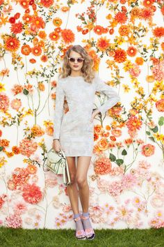 Blair Satchel, Hot Mesh Socks, Flower Power Platform, Sweet Thing Shades - dress coming soon!