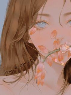 Manga Kawaii, Kawaii Art, Art Anime, Anime Art Girl, Blonde Anime Girl, Anime Girl Drawings, Cute Drawings, Pretty Art, Cute Art