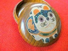 Inu Hariko wooden box
