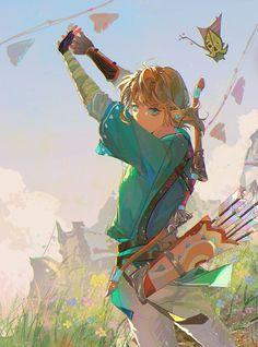 The Legend Of Zelda, Legend Of Zelda Breath, Link Art, Pokemon Fan Art, Breath Of The Wild, Best Games, All Art, Manga Anime, Drawings