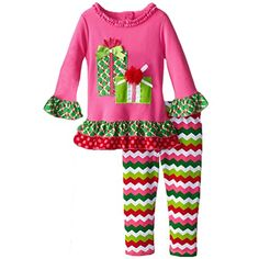 FTSUCQ Girls Shirt Top With Snowflake Skirt,Two-Pieces Sets