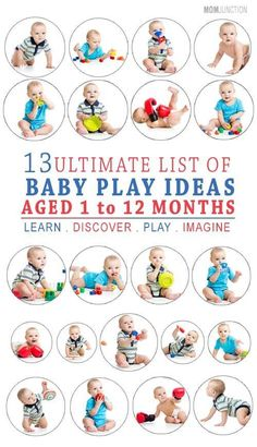 While aiding you into the sync of being a parent, the following activities will also help enhance your baby's fine motor and logical thinking skills. We have come up with an interesting list for your baby from the time of birth till 12 months of age. #baby