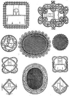 French Shoe Buckles 1700 - 1789